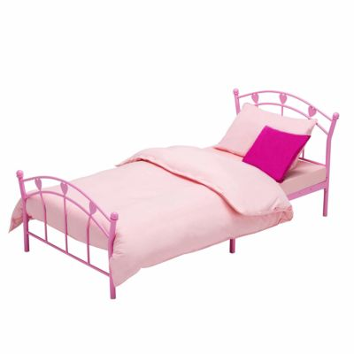 Mattress to fit mecor Metal 3FT Single Bed Frame Solid Bedstead Base with 2 Hearts Headboard - 190 x 90cm
