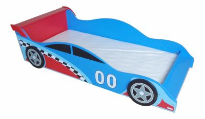 Mattress to fit Kiddi Style Children's Racing Car Wooden Junior Bed 140 x 70cm