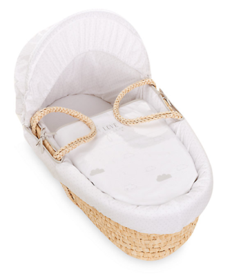Made to Measure Mattress for mothercare my first little lamb moses basket
