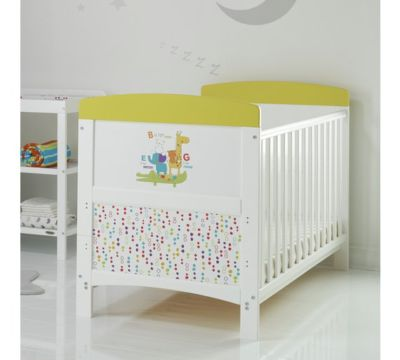 Mattress to fit Obaby Grace Inspire Cot Bed - B is for Bear Happy Safari