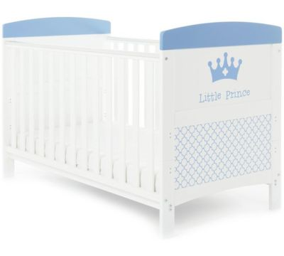 Mattress to fit Obaby Grace Inspire Cot Bed - Little Prince- mattress size is  140 x 70 cm.