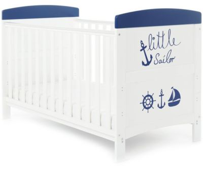 Mattress to fit Obaby Grace Inspire Cot Bed - Little Sailor