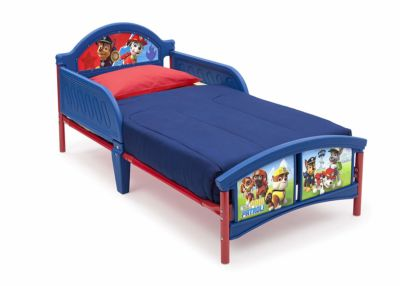 Mattress to fit Paw Patrol 3D Footboard Toddler Bed with Bedguard