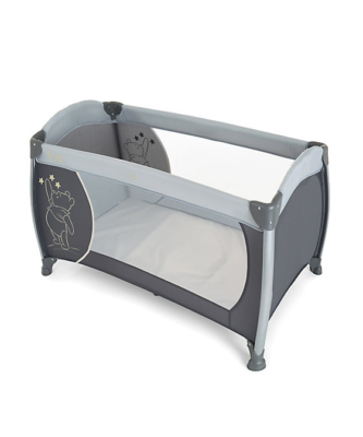 Travel Cot Mattress to fit Disney baby pooh stars grey play'n relax 96 x 66.5 cm