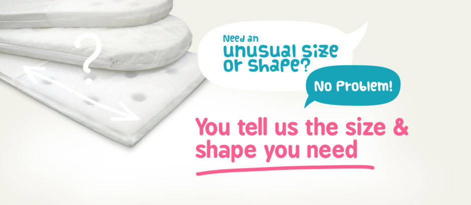 You tell us the size & shape