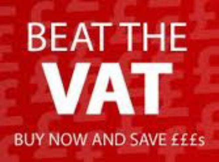 Beat the January VAT increase