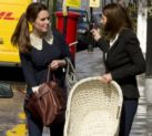 Mum-to-be Catherine, Duchess of Cambridge, shopping for a wicker cot accompanied by her mother Carole