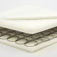 Photography of Fully sprung mattress to fit King Parrot cot beds - size is 131 x 68 cm