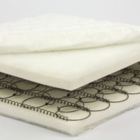 Photography of Special Offer - Fully sprung mattress 140 x 70  cm (Baby Dreams)