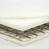 Photography of 130 x 69 x 10 cm fully sprung mattress for cot-beds