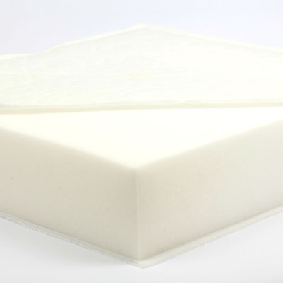 122 x 61 cm foam mattress for cots (7 cm depth)