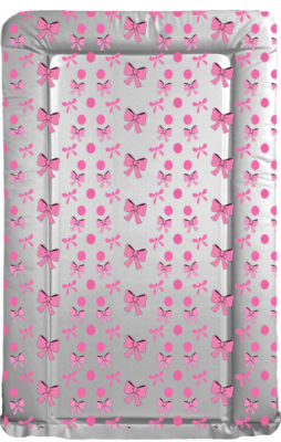 Changing Mat - Pink Bows and Spots