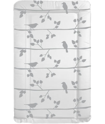 Changing mat Bird with Branches - Grey