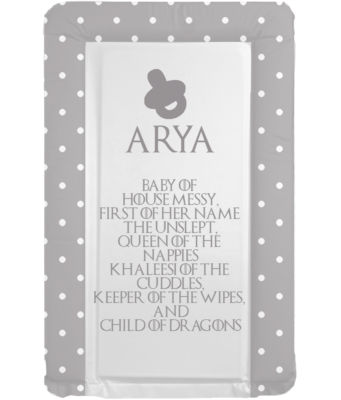 Changing mat - GoT Girls - Child of Dragons - Can Be Personalised