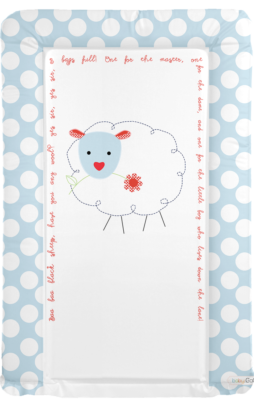 Changing mat - Baa Baa Black Sheep - Blue
