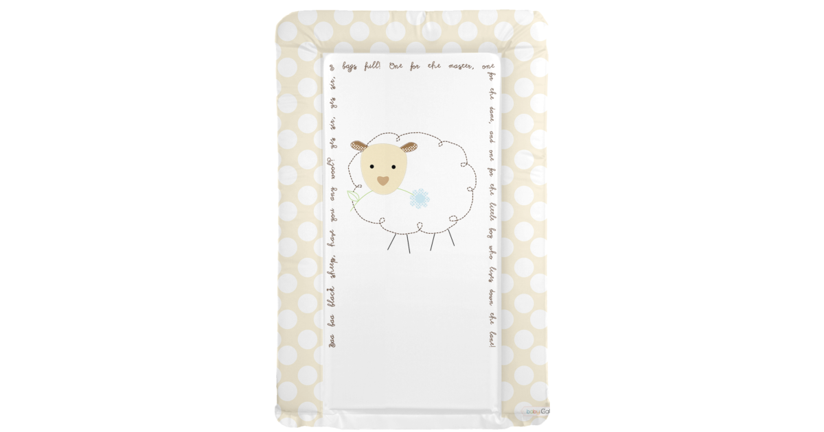 Changing Mat Baa Baa Black Sheep Neutral Baby