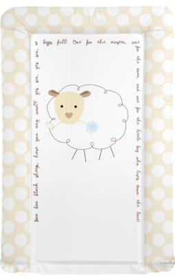 Changing mat - Baa Baa Black Sheep - Neutral