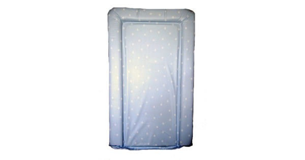 Buy Your Blue Amp White Polka Dot Spot Changing Mat From