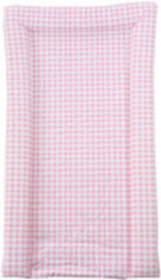 Changing Mat - Pink Vichy Design