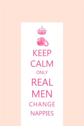 KEEP CALM - Real Men PINK (2)