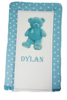 Photography of Changing Mat - Personalised - My 1st Teddy - Blue