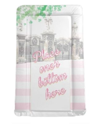 Royal Baby Themed Changing mat - Place One's Bottom Here (pink)
