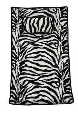 Changing Mat/Day Mat - Zebra Animal Print