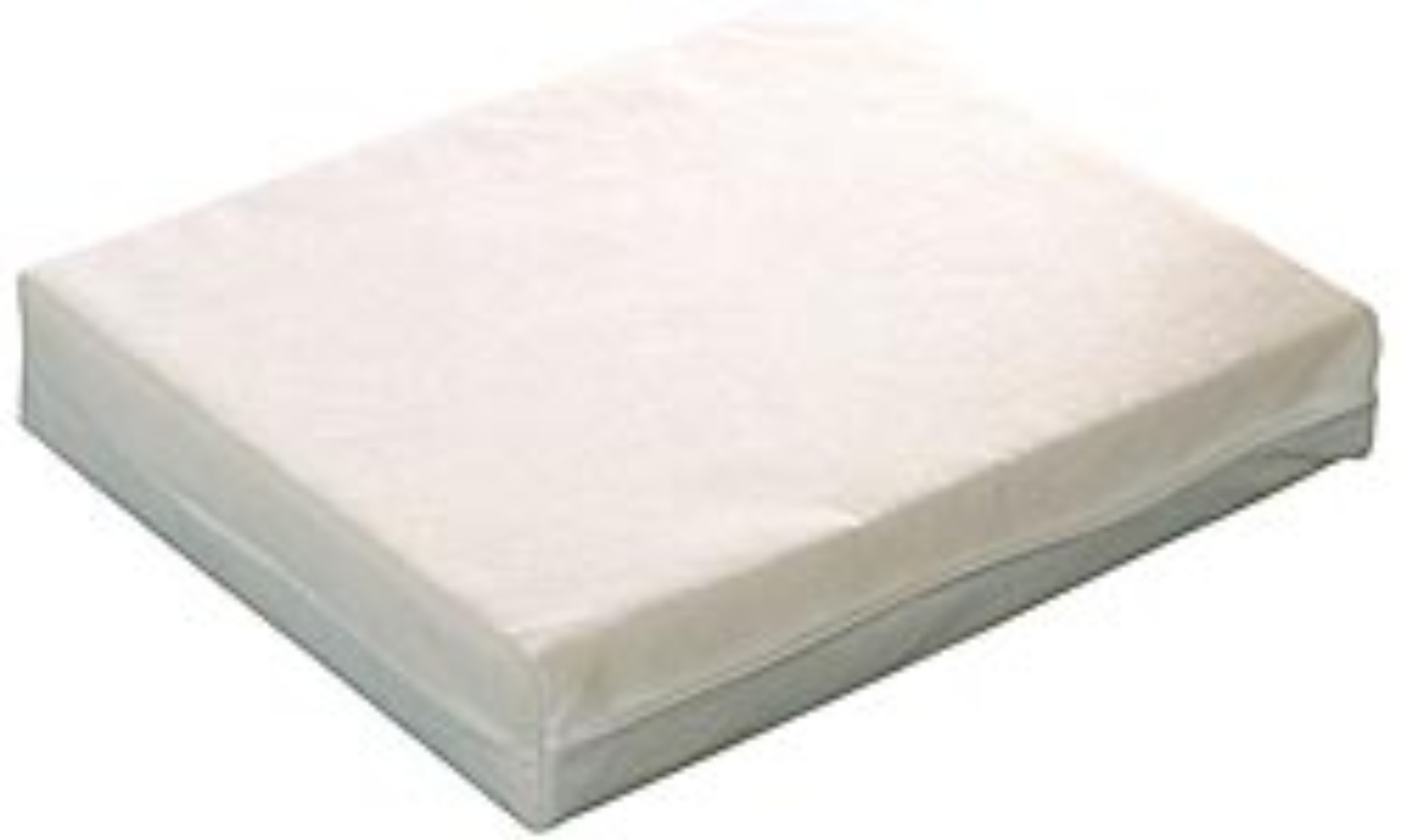 Travel cot mattress 7 cm depth made to measure
