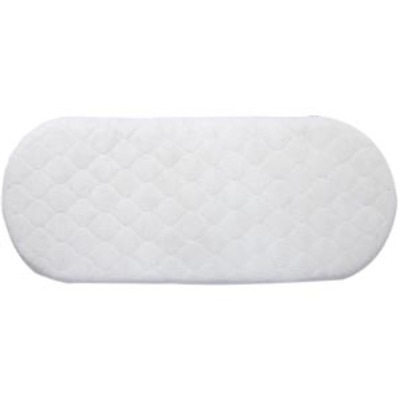 Deluxe Quilted Polyester Covered Mattress for Moses Baskets & Carry Cots - Available in Any Size