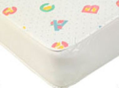 NURSERY PRINT Ventilated foam mattress 120 x 60  x 10 cm