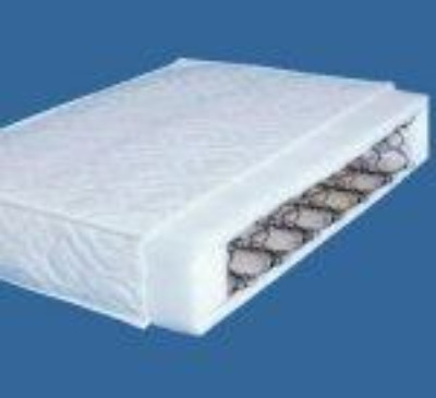 130 x 60  cm  fully sprung mattress for cots