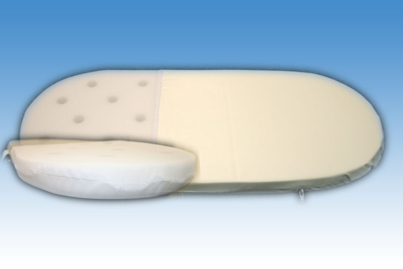 7935e6382e25f Standard Foam Mattress for Moses Basket & Carrycot - Available in ...