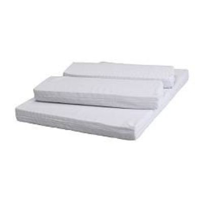 3 Part Mattress Set - to fit Swedish Store Extending Child's Bed (Size 2) - Main Section 125 x 80cm & 2 33 x 80cm Extensions